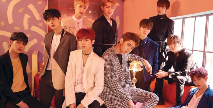 """Up10tion's """"Invitation"""" promotional picture."""