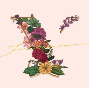 """Album art for Vromance's album """"Flower"""""""