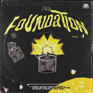 "Album art for Basick's album ""Foundation 4"""