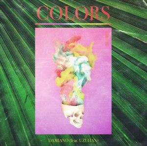 """Album art for Damiano's album """"Colors"""""""