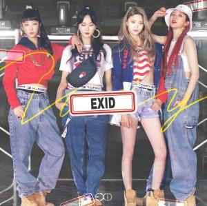 """Album art for EXID's album """"Lady"""""""