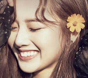 """Kriesha Chu's """"Dream of Paradise"""" promotional picture."""