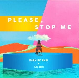 """Album art for Park BoRam's album """"Please Stop Me"""""""