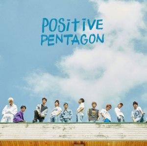 """Album art for Pentagon's album """"Positive"""""""