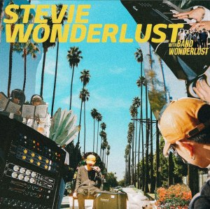 "Album art for Crush's album ""Stevie Wonderlust"""