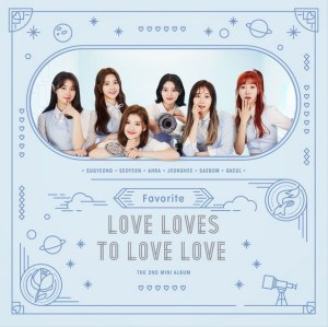 "Album art for Favorite's album ""Love Loves To Love Love"""