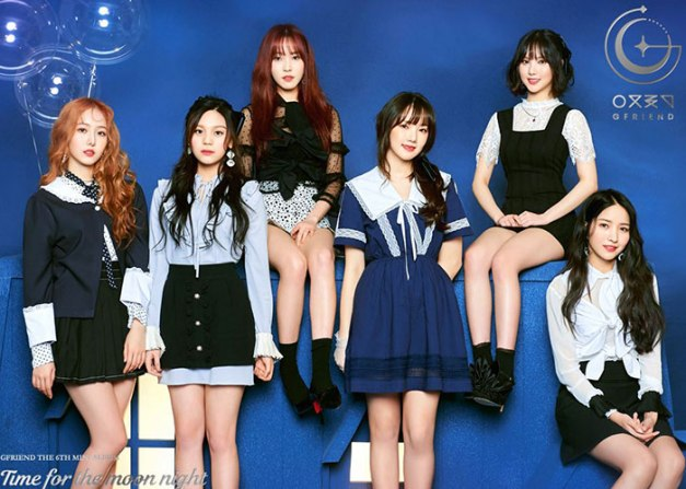 """G.Friend's promotional picture for """"Time For The Moon Night"""""""