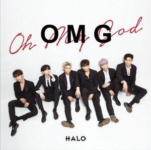 """Album art for Halo's album """"OMG"""""""
