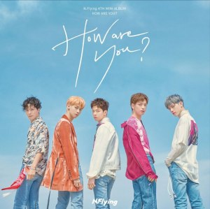 "Album art for N.Flying's album ""How Are You?"""