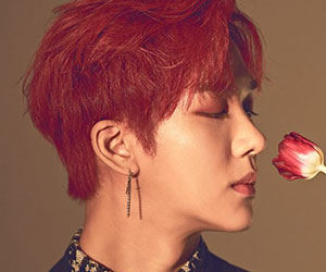 """Snuper's Suhyun promotional picture for """"Blossom"""""""