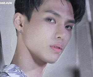 "Trei's Jaejun promotional picture for ""NIKE"""