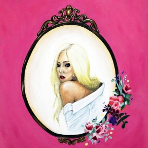 "Album art for Grace's album ""Because Of You"""
