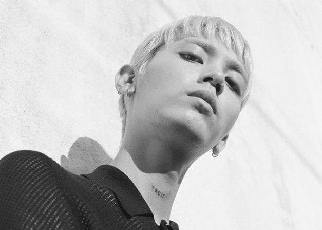 """Jooyoung's promotional picture for """"Prada"""""""