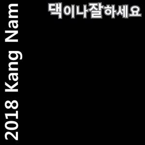 """Album art for Kangnam's album """"2018 Be Well"""""""