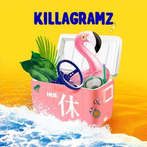 "Album art for Killagramz's album ""Hue"""