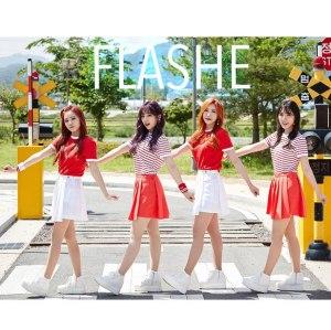 """Album art for Flashe's new album """"BabyLotion"""""""