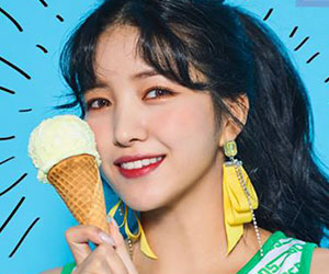 """G.Friend's Sowon promotional picture for """"Sunny Summer"""""""