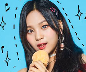 """G.Friend's Umji promotional picture for """"Sunny Summer"""""""