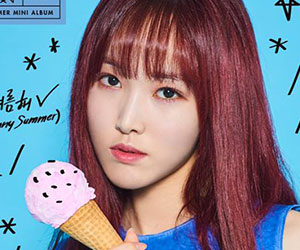 """G.Friend's Yuju promotional picture for """"Sunny Summer"""""""