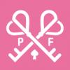 Pink Fantasy's logo.